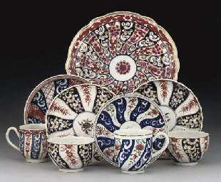A GROUP OF ENGLISH PORCELAIN I
