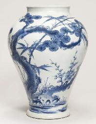 A Nabeshima vase