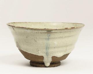 A Madara karatsu chawan [tea b