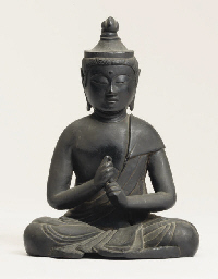 A Buddhist bronze