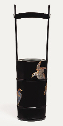 An ikebana vase