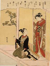 SUZUKI HARUNOBU (1725 - 1770)