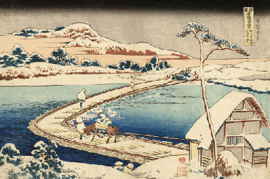 KATSUSHIKA HOKUSAI (1760 - 184