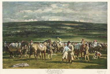 The Saddling Paddock, Cheltenh