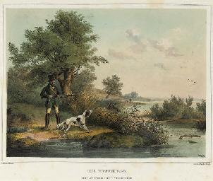 12 hunting scenes