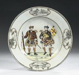 A Samson 'Scotsmen' plate