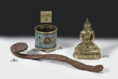 A Sino Tibetan gilt-bronze fig