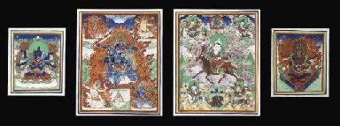 Seventeen Mongolian tsag.li's