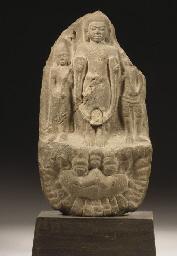 A Thai, Dvaravati period, ston