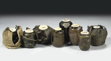 An assorted lot of eight tea-c