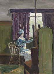 Interior of a Studio, Lady Kit