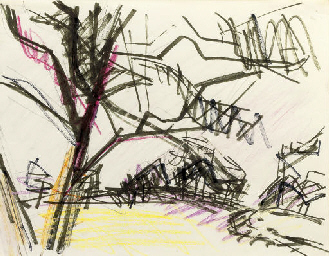Sketch for Primrose Hill