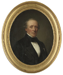 Portrait of F. Wichfeld (1800-