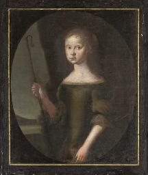 Portrait of Anna Rosenkrantz,