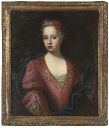 Portrait of a young lady, quar