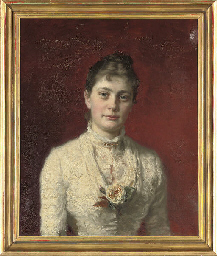 Portrait of Mrs H. Wichfeld (1