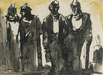 Four miners