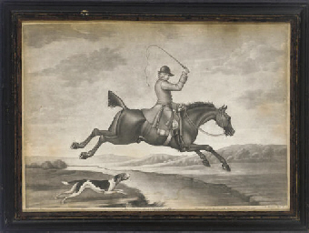 The Hunter in a Flying Leap, b