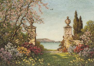 A garden in full bloom, Amalfi