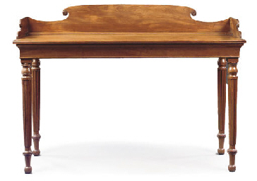 AN IRISH REGENCY MAHOGANY SERV