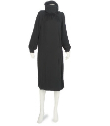 WORTH, A BLACK COAT, 1920S