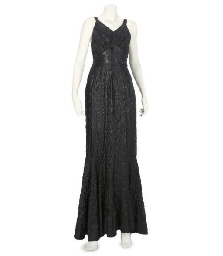 AN EVENING GOWN, 1930S