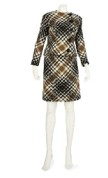 PIERRE CARDIN, A CHECK WOOL SU