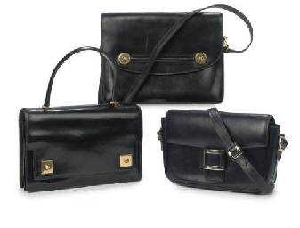 HERMÈS, THREE HANDBAGS