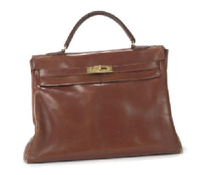 HERMÈS, A CHESTNUT BROWN KELLY