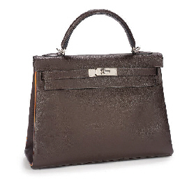 HERMÈS, A CHOCOLATE BROWN KELL