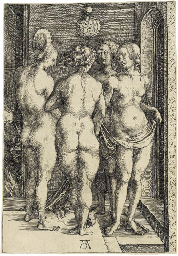Four naked Women (B. 75; M., H