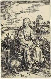 The Virgin and Child with a Mo