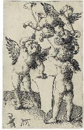 Three Genii (B. 66; M., Holl.
