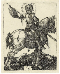 Saint George on Horseback (B.