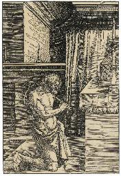King David doing Penance (B. 1