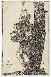 A Bagpiper (B. 91; M., Holl. 9