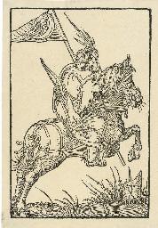 A Turkish Horseman (Dodgson 35