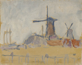 Moulins près de Rotterdam