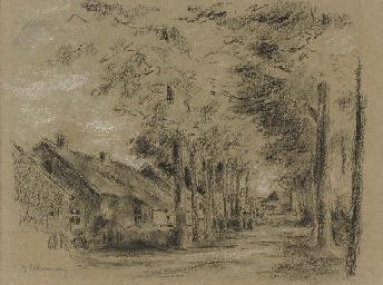 Dorfstraße in Laren
