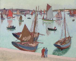 Le port de Camaret dans le Fin