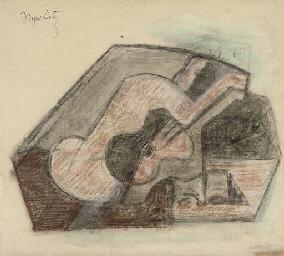 Study for 'Femme et guitare'