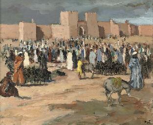 Marché aux chèvres, Maroc