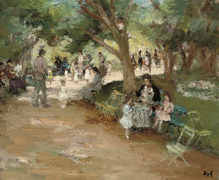 Parc Monceau à Paris
