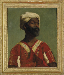 A Moor in traditional robes