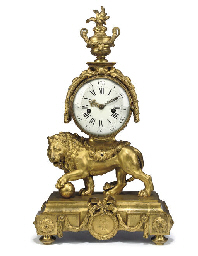 A LOUIS XVI ORMOLU STRIKING LI