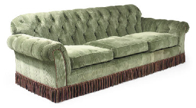 A CHESTERFIELD STYLE THREE-SEA
