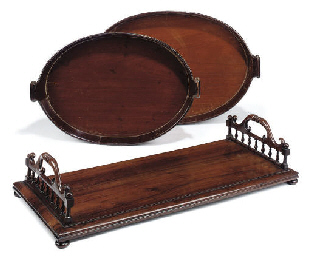 A WILLIAM IV ROSEWOOD BOOKSTAN