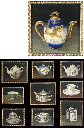 Ten studies of teapots, coffee