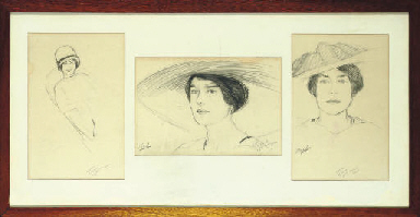 Three studies of ladies