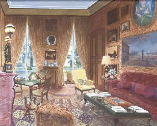 Petit salon, rue de l'Universi